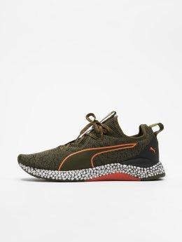 Puma Hybrid Runner Unrest Sneakers Forest Night/Firecrack