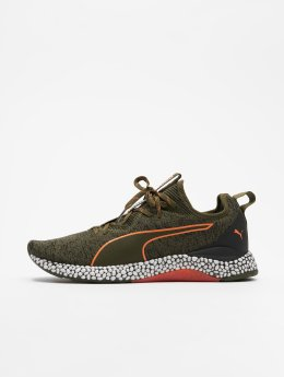 Puma Performance Sneakers Hybrid Runner Unrest oliwkowy