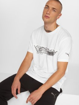 Puma Performance T-Shirt N.R.G Triblend Graphic weiß