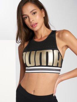 Puma Sport BH Logo zwart