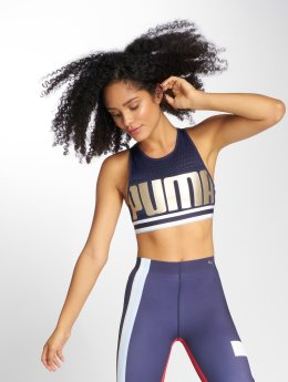 Puma Sports-BH Bra Peacoat blå