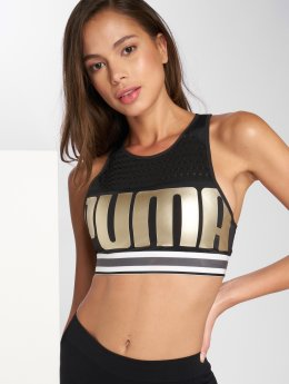 Puma Sports-BH Logo svart