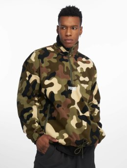 Puma Sweat & Pull Wild Pack Polar Fleece camouflage
