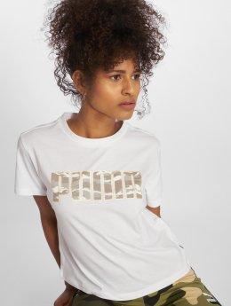Puma T-Shirt Camo blanc