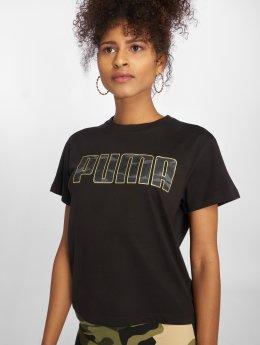 Puma T-Shirt Camo noir