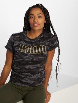 Puma T-skjorter Camo  kamuflasje