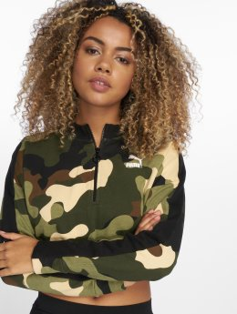 Puma trui Wild Pack T7 Cropped camouflage