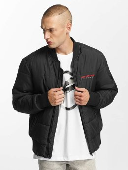 Pusher Apparel Bomberjacke Quilted Bomber schwarz