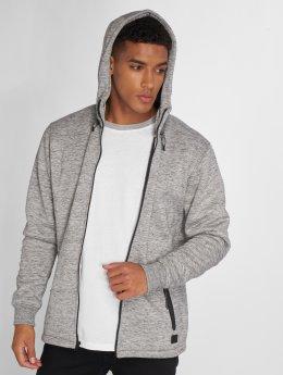 Quiksilver Hoodies con zip Kurow Sherpa grigio
