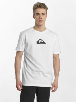Quiksilver T-Shirt Classic Comp Logo blanc