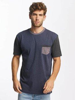 Quiksilver T-Shirt Baysic Pocket blau