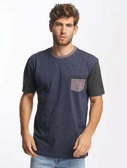 Quiksilver T-Shirt Baysic Pocket blue