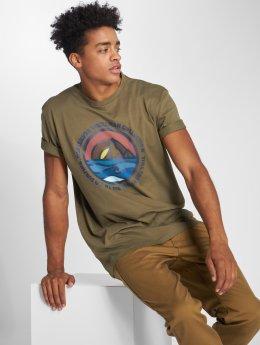 Quiksilver t-shirt Northwest groen
