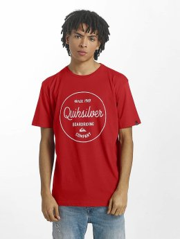 Quiksilver t-shirt Classic Morning Slides rood
