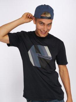 Quiksilver T-Shirt Retro Right  schwarz