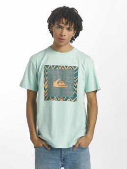Quiksilver t-shirt Classic Nano Spano turquois