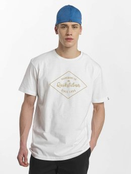 Quiksilver T-Shirt Classic Amethyst white