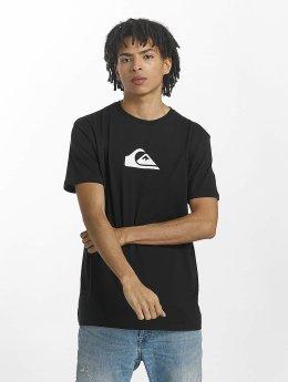 Quiksilver t-shirt Classic Comp Logo zwart