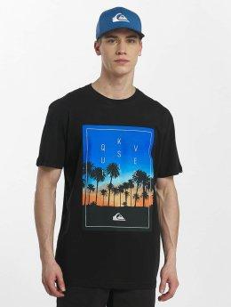 Quiksilver t-shirt Classic Salina Stars zwart