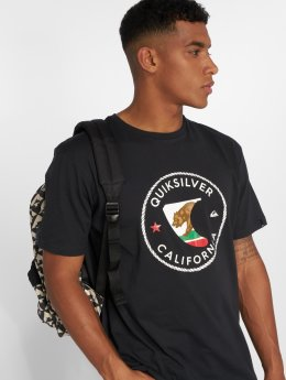Quiksilver t-shirt Cafin zwart