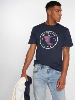 Quiksilver T-shirts Hifin blå
