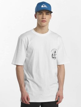 Quiksilver T-Shirty GMT Dye Curve Love bialy