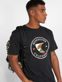 Quiksilver T-Shirty Cafin czarny