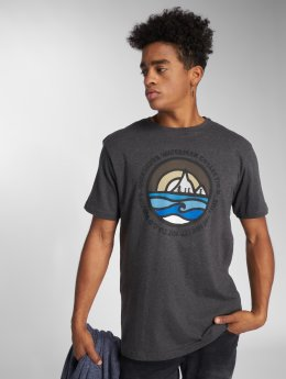 Quiksilver T-Shirty Northwest szary