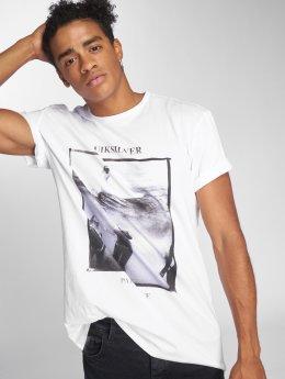 Quiksilver T-skjorter Wave Party hvit