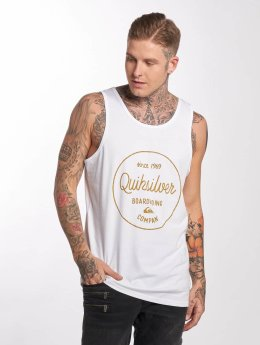 Quiksilver Tank Tops Morning Slide weiß