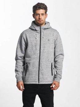 Quiksilver Zip Hoodie Kurow Sherpa gray