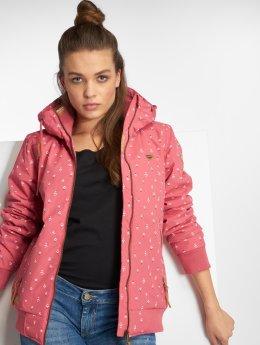 Ragwear Демисезонная куртка Nuggie A  розовый