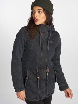 Ragwear Зимняя куртка Monadis Denim серый
