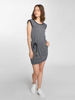 Ragwear Frauen Kleid Giza Organic in blau
