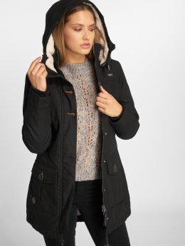 Ragwear Manteau hiver Jane noir