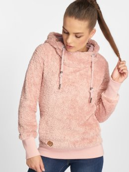 Ragwear Sweat capuche Teddy magenta