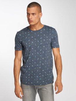 Ragwear T-Shirt Taylor blau