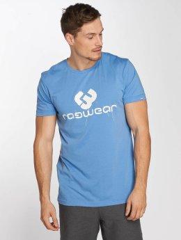 Ragwear t-shirt Charles blauw
