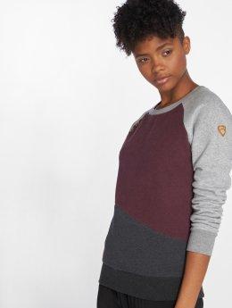 Ragwear trui Daria Block grijs