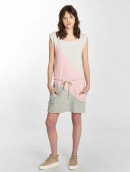 Ragwear Vestido Tag Block A Organic rosa