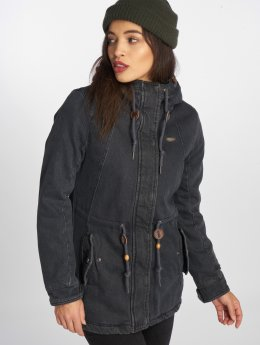 Ragwear Winterjacke Monadis Denim grau