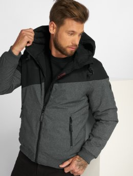 Ragwear winterjas Wings zwart