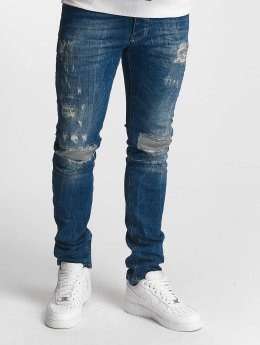 Red Bridge Jean slim Inside Out Destroyed bleu