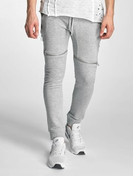 Red Bridge Jogginghose Zipped grau