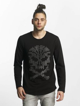 Red Bridge Longsleeve Skull  schwarz