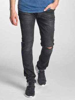 Red Bridge Slim Fit Jeans Baku zwart