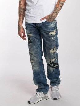 Red Bridge Straight Fit Jeans Look Out blå