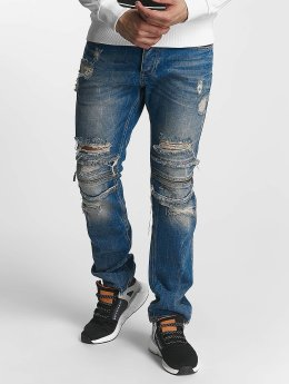 Red Bridge Straight Fit Jeans Straight Fi blå