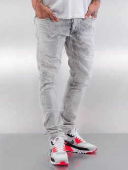 Red Bridge Straight Fit Jeans Dirty  blau