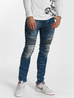 Red Bridge Straight Fit Jeans Harsh blau